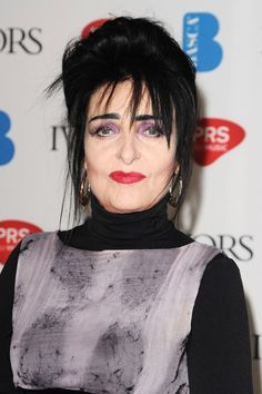 Siouxsie Sioux, 55, of Siouxsie and the Banshees