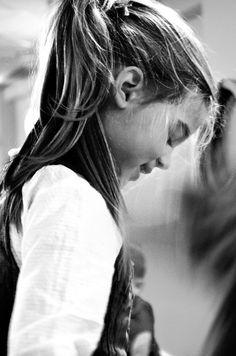 Tiara - love to photogtaph blonds on black & white