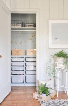 Small Closet Storage, Tiny Closet, Small Closets, Small Closet Design, Storage Closets, Closet Designs, Small Deep Closet, Ikea Closet Design, Small Room Storage Ideas
