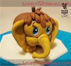 Elephant Cake Topper Tutorial