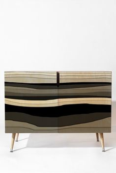 Viviana Gonzalez Monochrome vibes 01 Credenza | DENY Designs Home Accessories