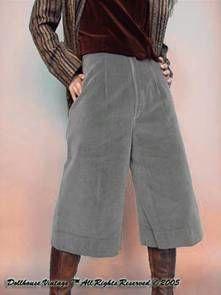 Gaucho pants