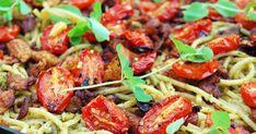 Haastamme sinut kokeilemaan kuukautta vegaanina! Kung Pao Chicken, Spaghetti, Meat, Ethnic Recipes, Food, Essen, Meals, Yemek, Noodle