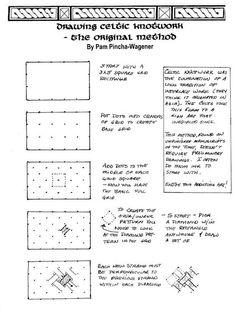 Waldorf ~ 4th grade ~ Norse Mythology ~ Drawing Celtic Knots ~ page 1