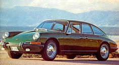 Mrs. Dick received her four-door 911 for Christmas in 1967, at a cost of slightly more than for a Rolls-Royce.