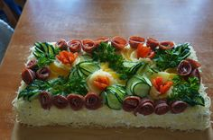 Voileipäkakkuni :) Desserts, Food, Tailgate Desserts, Deserts, Essen, Dessert, Yemek, Food Deserts, Meals