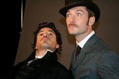 RDJ & Jude Law