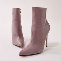 6e38f154193 You saw it here first! Two-tone ankle boot beauties featuring pointed toe  and