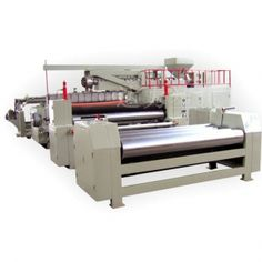 Dali Plastic laminating machine is a complete production line adopting cast film process to heat and extrude PE, EVA, TPR, PP, and other material, coat to substrates(base fabric), press and cool, finally take up in rolls. www.dali-plasticmachinery.com