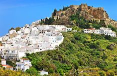 10 Top-Rated Pueblos Blancos (White Villages) of Andalusia Grenada Spain, Rome Antique, Sunny Beach, Granada, Spain Travel, Malaga, Wedding Colors, Places Ive Been, Dolores Park