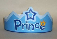 Prince Paper Crown Printable by PutACrownOnIt on Etsy Crown Template, Leaf Template, Flower Template, Butterfly Template, Crown Printable, Templates Printable Free, Printable Paper, Cheap Pet Supplies, Chapeau Cowboy
