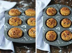 Cinnamon Chocolate Chip Pumpkin Muffins | cookiemonstercooking.com