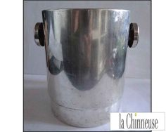 VINTAGE CHAMPAGNE BUCKET/Ice Bucket /Art Deco Champagne Cooler/Sceau à champagne vintage . de la boutique LaChinneuse sur Etsy