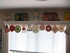 My vintage pot holder collection