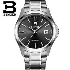 26.34$  Buy now - http://alie2w.shopchina.info/go.php?t=32721914810 - 2017 Binger New Fashion Watch Men Elegant Casual Steel Mesh Quartz Watches Man Boutique Gift Geneva Wristwatch Silver 26.34$ #buyininternet