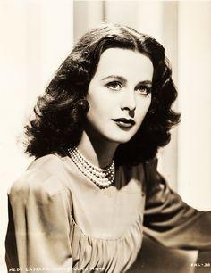 Valentino Vamp : Photo Hedy Lamarr