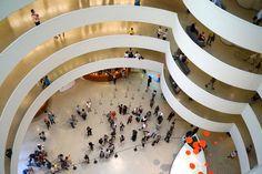 Guggenheim by Frank Lloyd Wright, 1959