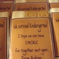 for his kindergarten friends!