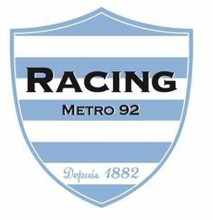 Racing Metro (Paris France) Paris Map, Paris France, Rugby, Team Mascots, Paris Metro, Great Logos, Cheerleading, Team Logo, Racing