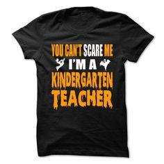 Halloween Tshirt For Kindergarten Teacher T-Shirts, Hoodies, Sweatshirts, Tee Shirts (21.99$ ==> Shopping Now!)
