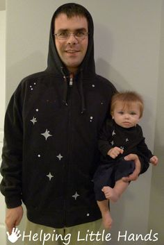 Big Dipper and Little Dipper Halloween Costumes
