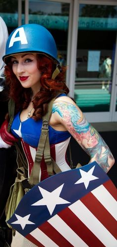 The Avengers // Lady Captain America // Cosplay
