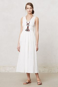 Caraiva Maxi Dress #anthropologie - $118 - cotton - also in med. orange; avail. in petite