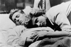 """zzzze: """" Nicole Stephane and Edouard Dermithe in Les enfants terribles directed by Jean-Pierre Melville in based on the novel by Jean Cocteau (film-still) """" Melville, Jean Cocteau, Roman, Moving Pictures, Film Stills, The Past, Novels, Things To Come, History"""