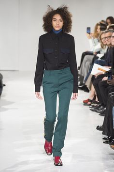 Every Look From Raf Simons' Debut Calvin Klein Collection for Fall 2017