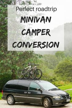 """Outstanding """"mini vans"""" detail is offered on our web pages. Check it out and you wont be sorry you did. Caravan Conversion, Minivan Camper Conversion, Minivan Camping, Mini Vans, Chrysler Voyager, Grand Caravan, Mini Camper, Camper Van, Autos"""