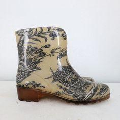 Vintage Rain Boots