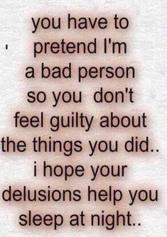 Love Life Optimistic Quotes: You have to pretend i'm a bad person