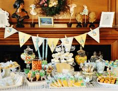 Vintage Peter Rabbit Christening Party