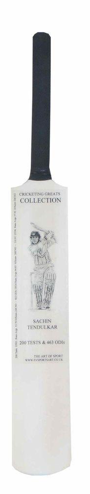 Sachin Tendulkar  -Cricketing Greats  Mini Bat