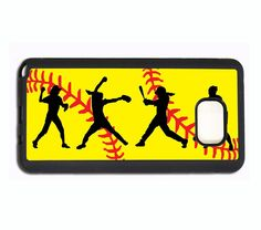PERSONALIZED NAME SOFTBALL PHONE Case For Samsung Galaxy S8 S7 EDGE S6 NOTE 5 4 #UnbrandedGeneric