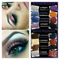 I am in love with these eye pigments!!!!