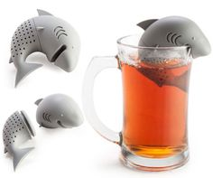 The Shark Tea Infuser! Tea Wonu0027t Get Any More Dangerous Than This.