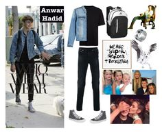 """""""Untitled #91"""" by tajinder1010 on Polyvore featuring Topman, AMI, Neil Barrett, Converse, adidas, Who What Wear, Edge Only, DENY Designs, Jane Lee McCracken and men's fashion"""