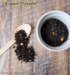 """Té negro """"Rokoko"""" Té negro, caramelo, coco, almendra, aroma natural"""