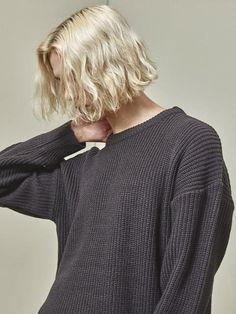 Basic Drop Knitwear Black