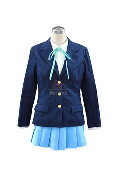 Buy K-ON! Nakano Azusa School Uniform 2nd Cosplay Costume - RoleCosplay.com