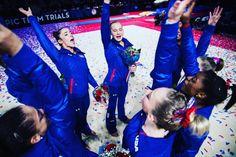 2016 U.S. Women's Olympic Gymnastics Team! <3