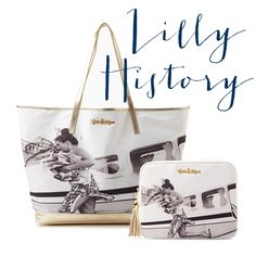 Own a piece of Lilly Pulitzer history with our new Coastal Tote & Tech Clutch