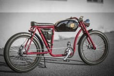 bicicleta electrica caferacer