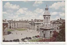 Trinity College, Dublin Ireland, The Front Square