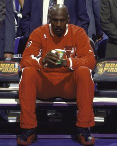 """175.5k Likes, 1,131 Comments - Jordan (@jumpman23) on Instagram: """"""""I can play."""" On 6/11/97, he proved nothing would stand in his way. #GreatnessOvercomes"""""""