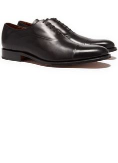 Grenson Bert Black Lace Up Dress Shoe 345$