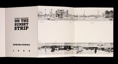 Every Building on the Sunset Strip - Ed Ruscha. Great book. Own it.