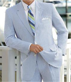 2-Button Seersucker Suit