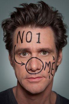 """Jim Carrey. """"No 1 nose me."""""""